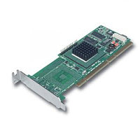 S26361-F3085-L128 Контроллер RAID SCSI Fujitsu-Siemens MegaRAID 320-0X Intel IOP321-400Mhz 128Mb 0-Channel RAID50 UW320SCSI LP PCI-X For TX150S3