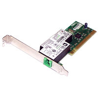 398661-001 Контроллер HP Agere Systems PCI SoftModem - High-speed 56Kbps, V.92 modem card - Has one (F) RJ-11 output connector
