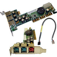 398879-001 Контроллер HP (MSI) MS-6993 Powered USB Adapter AGP Card 2-12V 3USB v.2.0 2x12v 1x24v AGP4x For POS Systems rp5000 rp5700