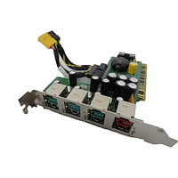 439756-000 Контроллер HP Powered USB Port Card 2-12V 4USB v.2.0 2x12v 1x24v PCI For POS Systems rp5700
