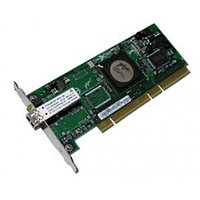 10N7255 Сетевой Адаптер IBM (Emulex) LPE11002 FC1120005-01C L2B2777 2x4Гбит/сек Dual Port Fiber Channel HBA LP PCI-E4x (5774)