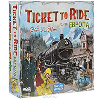 "Настольная игра ""Билет на поезд: Европа / Ticket to Ride: Europe"""