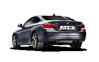 Выхлопная система AKRAPOVIC Evolution Line (SS) на BMW 435i (F32)