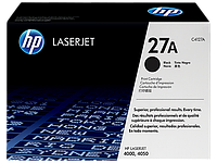 HP Black Print Cartridge for LaserJet 4000/4050/N/T/TN, up to 6000 pages. ;