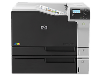 Принтер HP Color LaserJet Ent M750n (D3L08A) Printer (A3) 600 dpi, 30 ppm (A4), 1GB+ 8GB, 800Mhz, USB+Ethernet, tray 100+250+250+500 pages, Duty cycle
