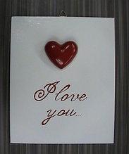 Картина-открытка I love you