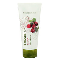 NATURE REPUBLIC REAL NATURE PEELING GEL-CRANBERRY ПИЛИНГ ГЕЛЬ С ЭКСТРАКТОМ КЛЮКВЫ 120ML