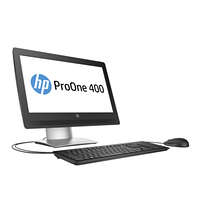 "HP  ProOne 400 G2 AiO i3-6100T 500G 4.0G DVDRW Win10/Win7 Pro 20.0"" WLED HD+ 720p HD WebCam Core i3-6100T 3.2G"