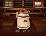 Кадка липовая для хранения меда 1,0 (латунь), фото 2