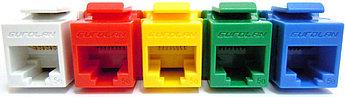 Eurolan Розеточный модуль FTP 1xRJ45 Keystone категории 5е