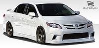Обвес Duraflex на Toyota Corolla