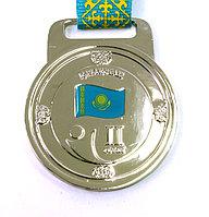 Медаль рельефная за 2-е место (серебро)
