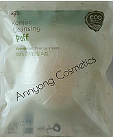 Спонж конняку The Face Shop Beauty Tools Konjac Jelly Cleansing Puff