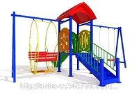 Детская площадка во двор. Практичность, фото 1