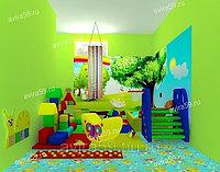 Игровая комната для детей. Волшебный лес, фото 1