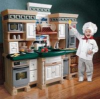 Детская игровая кухня для мальчиков «Люкс»