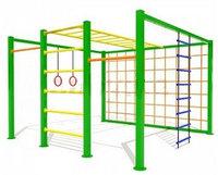 Спортивный детский уличный комплекс Актив-спорт 10