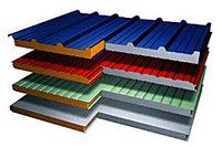 Стеновая сэндвич панель утеплитель минвата(базальт) - 50мм 1000