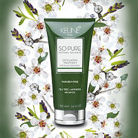 "Маска-скраб ""Обновляющая"" Keune So Pure Natural Balance Exfoliating Treatment 100 мл."
