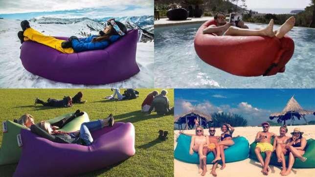 Надувной лежак-диван Lamzac (Ламзак)