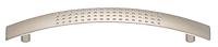 Мебельная ручка,, 128 мм, никель, матовая 158*29 мм