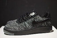 Кроссовки Nike Air Force 1 Flyknit Low Grey , фото 1