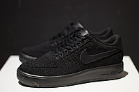 "Кроссовки Nike Air Force 1 Flyknit ""Black"" 44"
