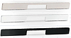 Мебельная ручка  алюминий, цвет хром полированная 400мм