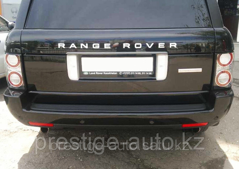 Задний бампер на Range Rover Vogue