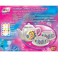 Набор посуды для росписи Multiart Winx