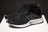 "Кроссовки Nike Air Presto Mid Flyknit ""Black/White"""