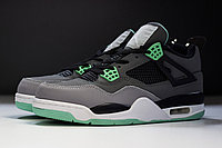 "Кроссовки Air Jordan IV(4) Retro ""Green Glow"", фото 1"
