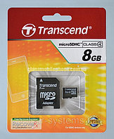 Карта памяти Transcend 8GB (SD adapter)