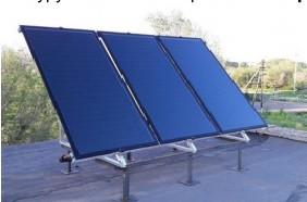 Плоские солнечные водонагреватели (коллектора)