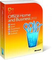 Office Home and Business 2010 32-bit/x64 Russian Kazakhstan Only DVD