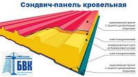 Сэндвич панель стеновая утеплитель мин.вата ( базальт) 120