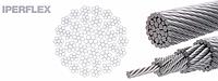 Многопрядный некрутящиеся крановые стальные канаты IPERFLEX EN 12385-4-2000, фото 1
