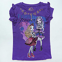 Футболка Monster High фиолетовая