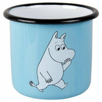 Сувениры Muurla Muurla Кружка Moomin Retro, light blue 3,7dl