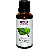 Эфирные масла, Масло чайного дерева, (30 мл).  Now Foods