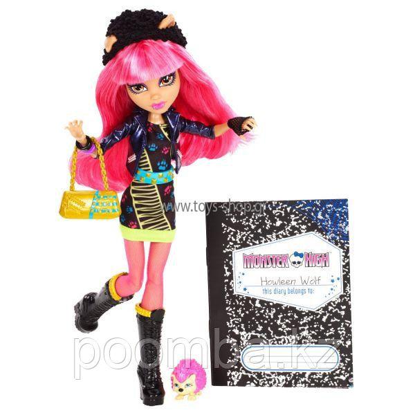 "Куклы Monster High 13 ЖЕЛАНИЙ, Школа Монстров, Хоулин Вульф серия ""13 Желаний"""