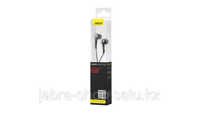 Наушники Jabra Rhythm Black - Интернет магазин Jabra-Shop    в Алматы