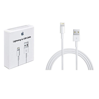 Usb кабель apple lightning (1m) iphone 5/5s / ipod touch 5g / ipod nano 7g