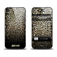 Наклейка qsticker apple iphone 4/4s, just cavalli light