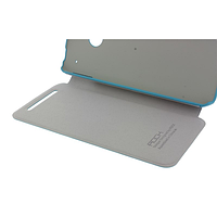 Чехол rock htc one m7 big city, цвет светло-синий (light blue)