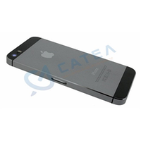 Корпус apple iphone 5s, цвет серый (space gray)