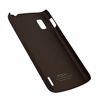 Чехол rock lg google nexus 4 e960, naked shell series, цвет кофе (coffee)