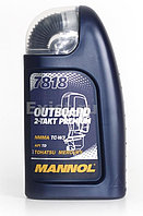 Моторное масло MANNOL 2-Takt Outboard Premium 7818 1L