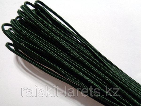Сутажный шнур- ТЕМНО-ЗЕЛЕНЫЙ