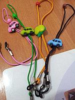Шнурок  для очков детский с ограничителем по голове